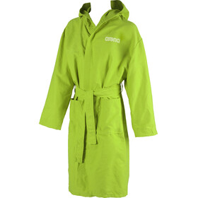 arena Zeal Bathrobe leaf-white